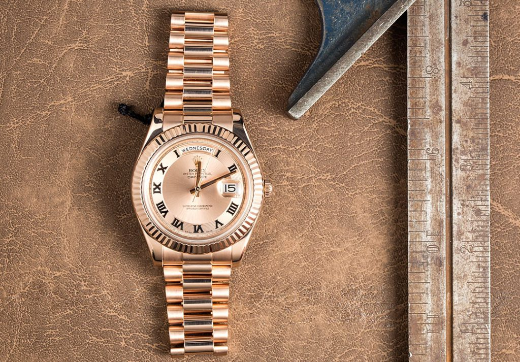 19c3b902f0b A Rolex President - Day Date II a Few Shades Above the Rest