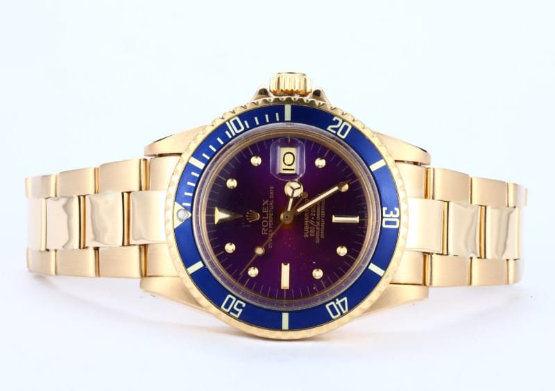 Rolex Submariner ref. 1680/8 tropical dial