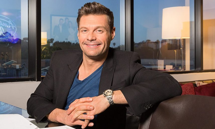 Ryan Seacrest, a huge success in the entertainment industry wears a vintage Daytona 6263