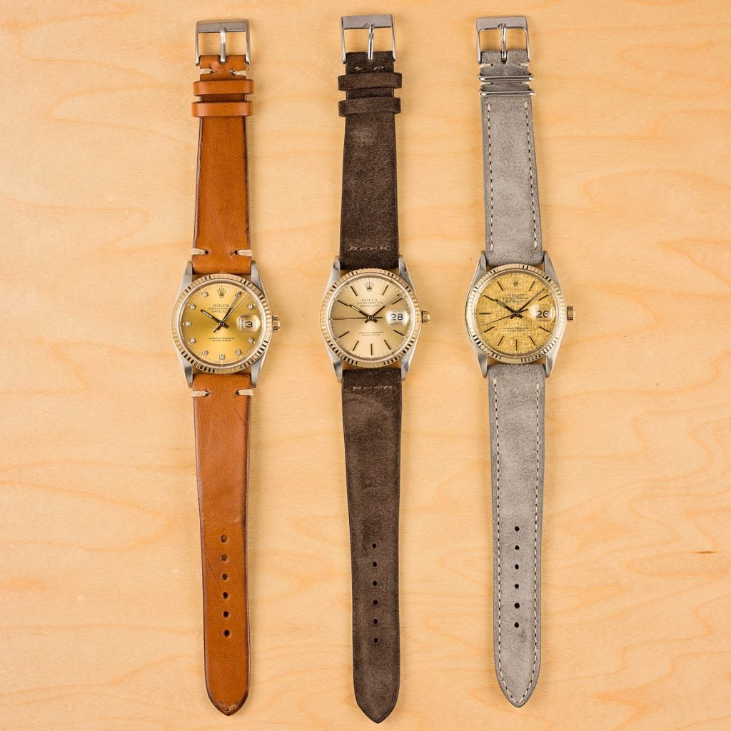 Leather Bands for Rolex Watches