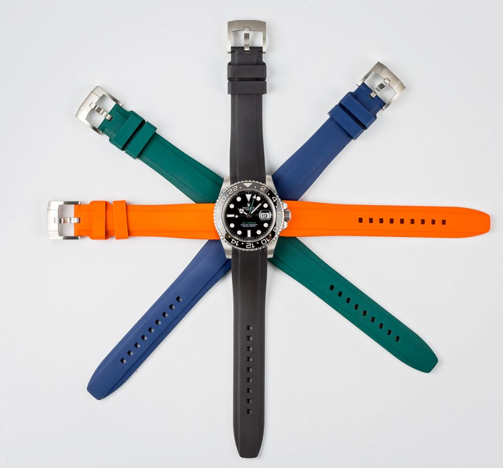 Rubber Straps for Your Rolex Watch