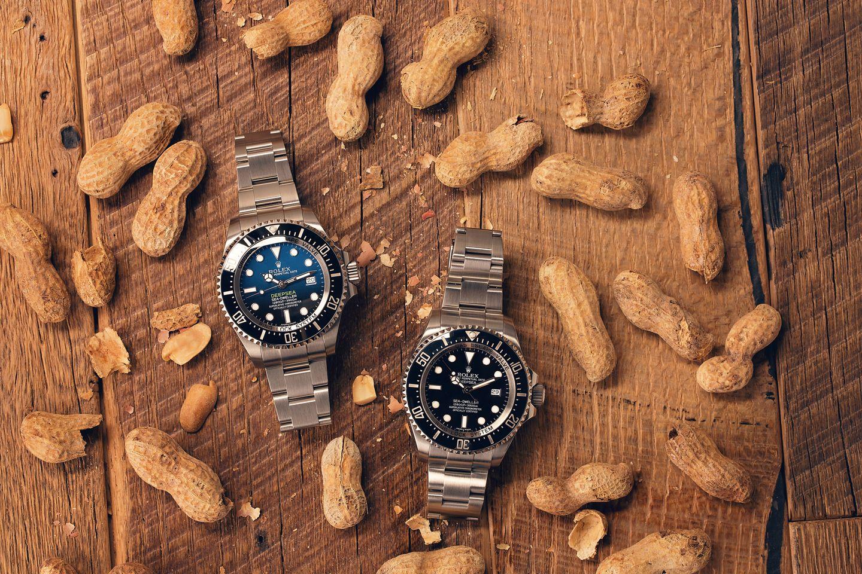 Rolex Deepsea helium escape valve