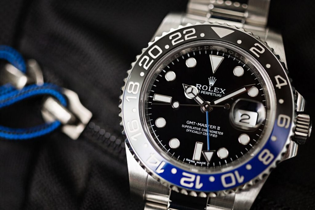 "The Rolex GMT-Master II 116710 BLNR is known as the ""Batman"" by Rolex fans"