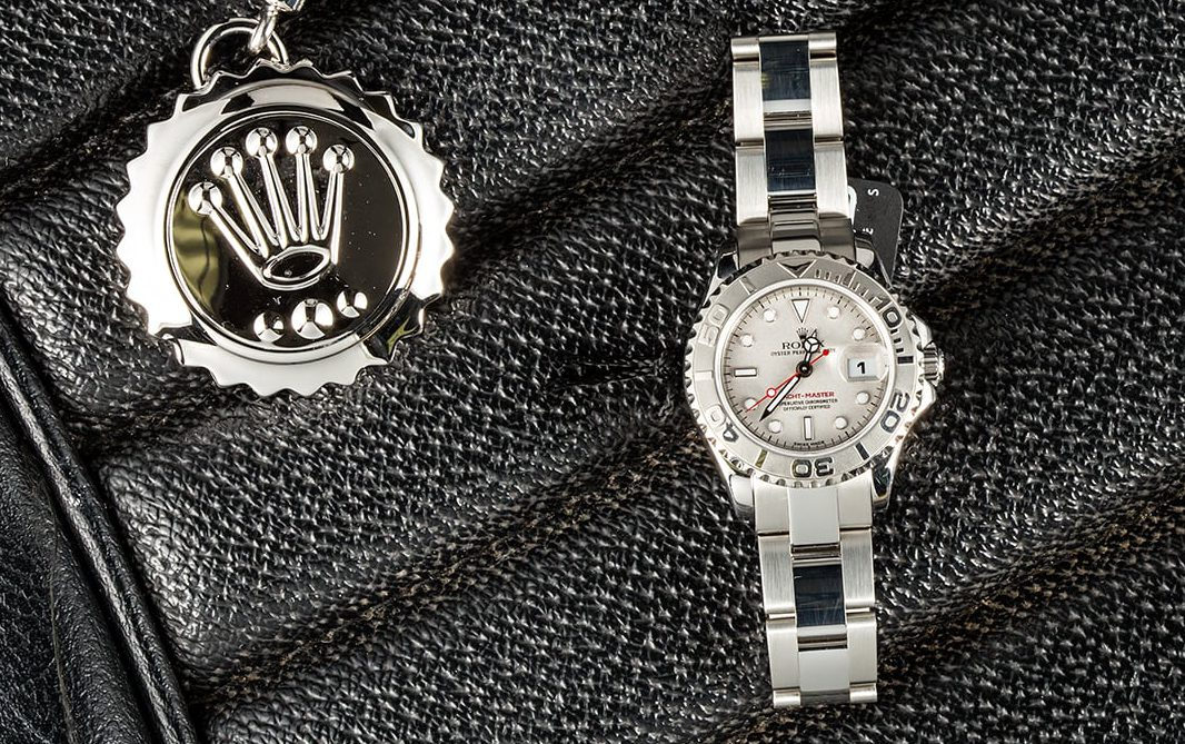 Ladies love a Yacht-Master from Bob's Watches.