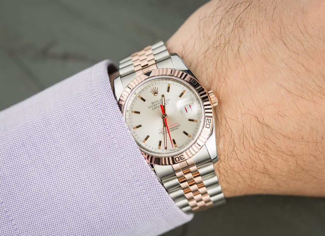 Rolex Datejust Turn-O-Graph Thunderbird ref. 116261