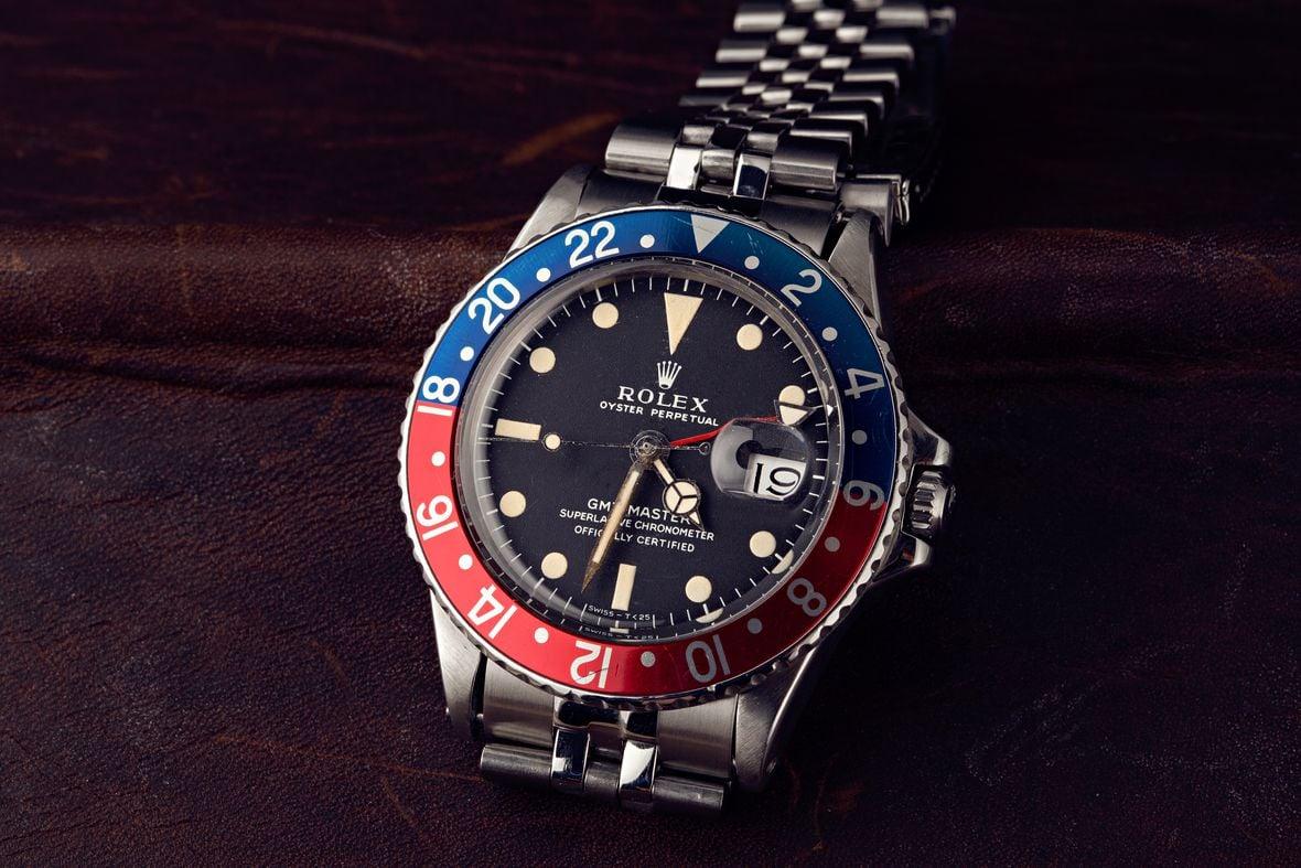 Vintage Rolex GMT-Master Pepsi 1675 Jubilee Bracelet