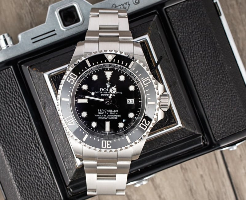 The Rolex Seadweller is a watch that well suits Tiger Woods.