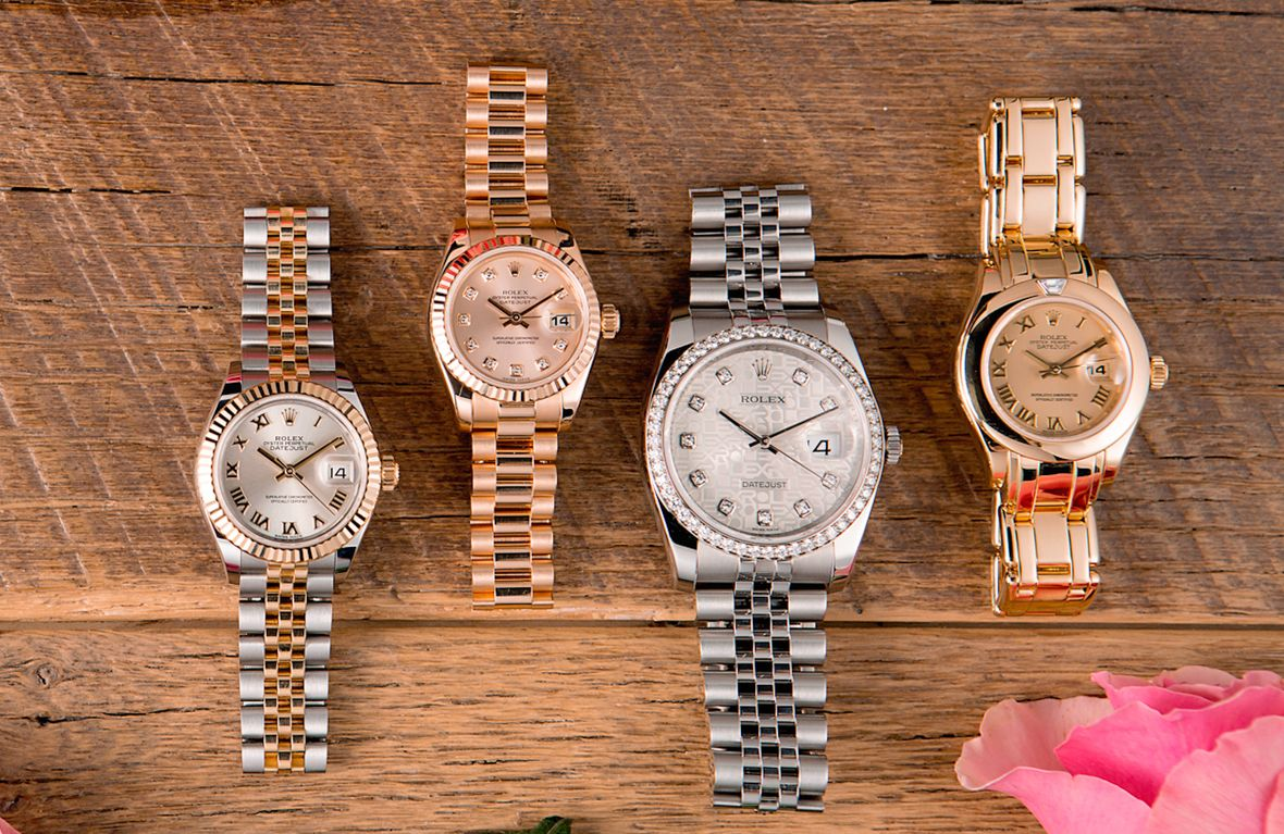 Rolex Ladies Datejust Watches