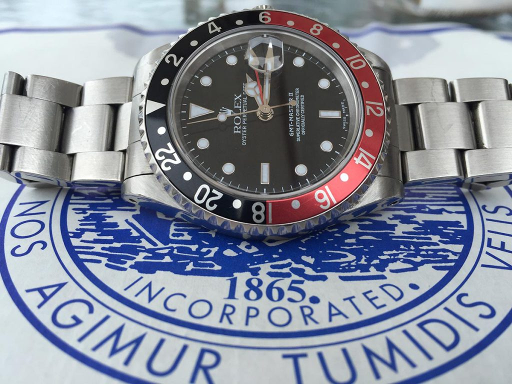rolex gmt master yacht club