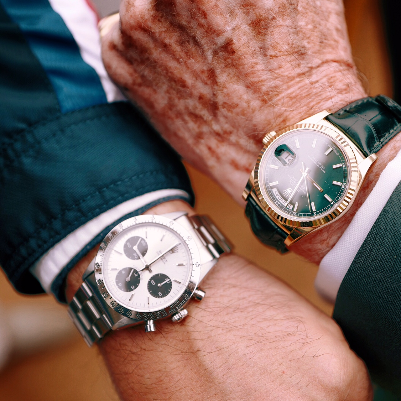 Rolex Wristshots at Pebble Beach