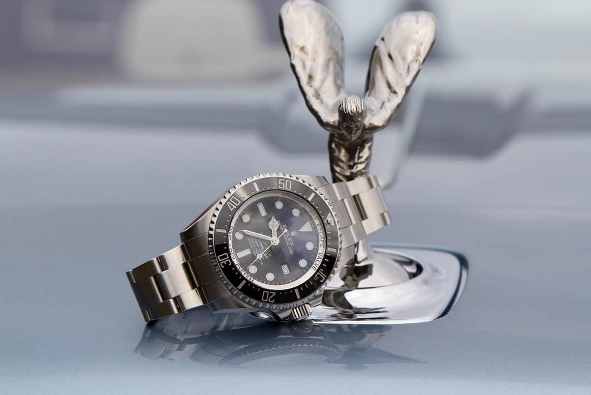 Rolls Royce Rolex Seadweller Deepsea