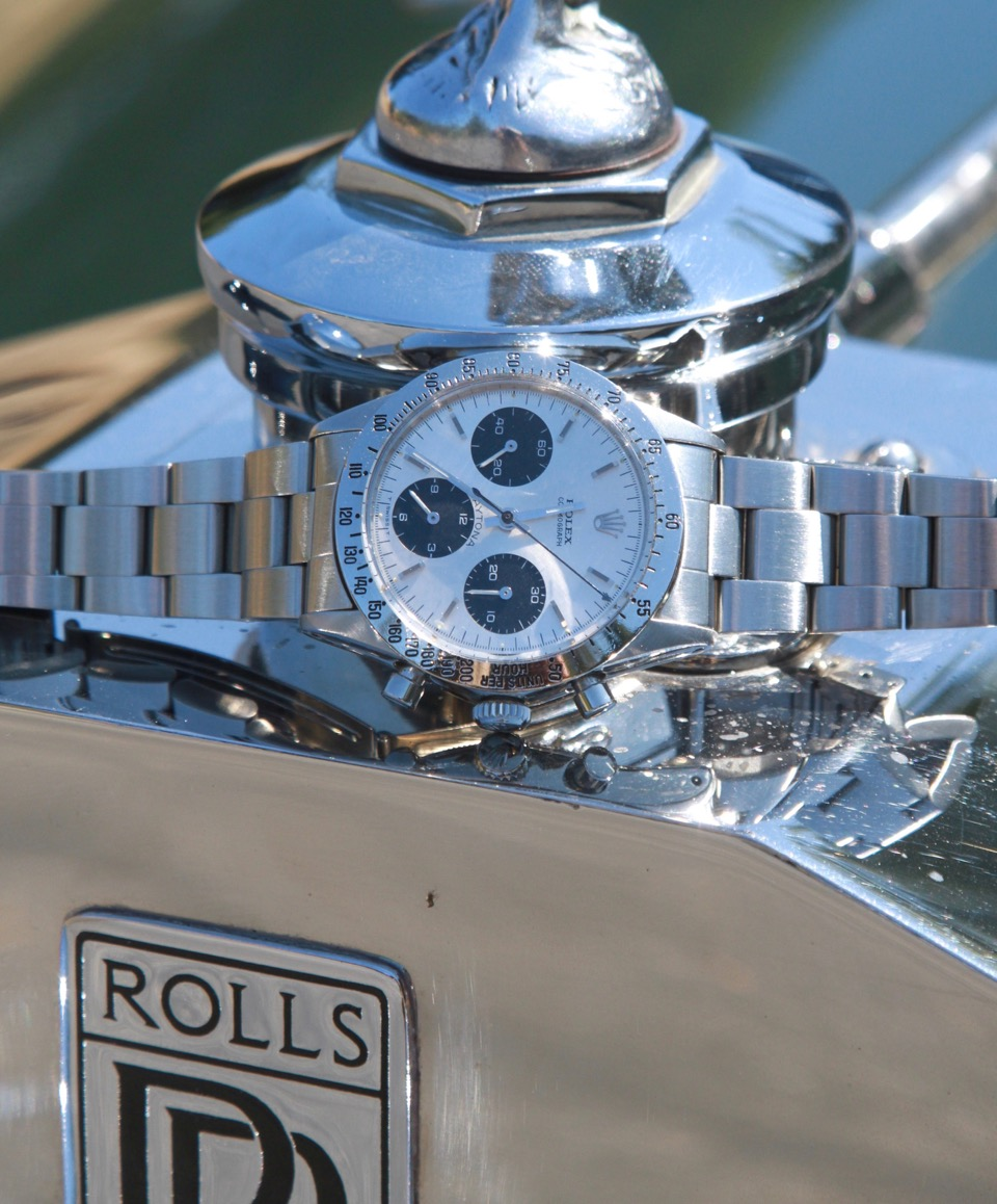 Vintage Rolex Daytona at Pebble Beach