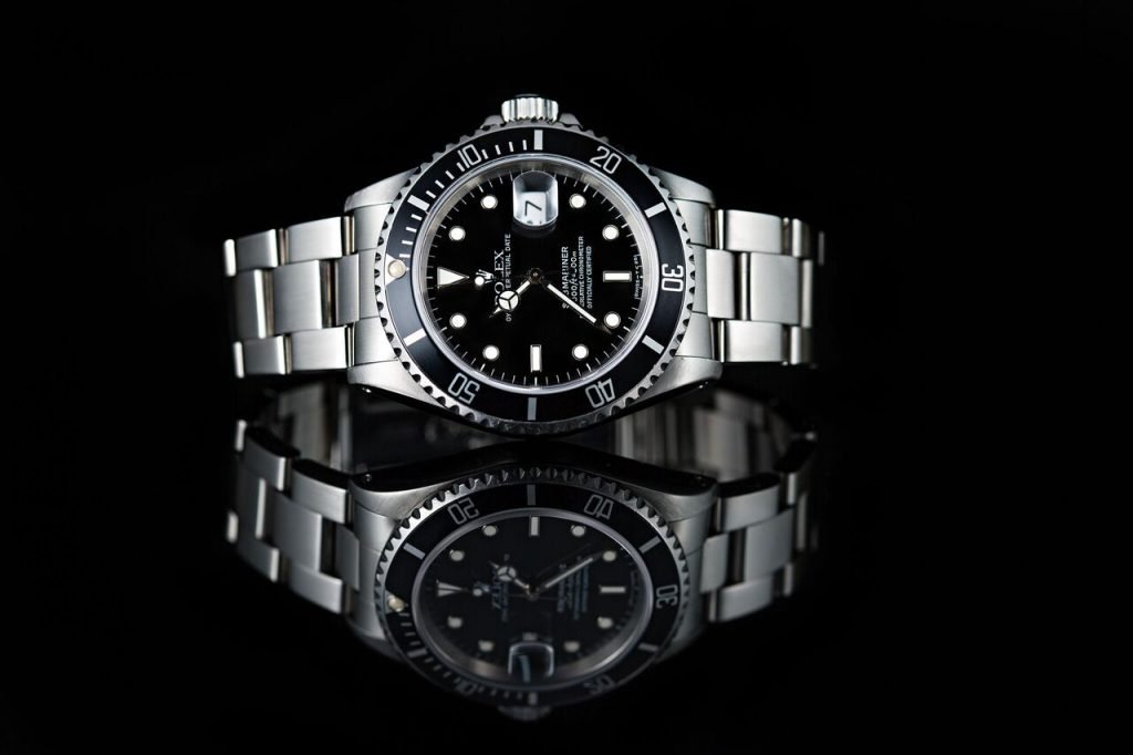 black rolex watches