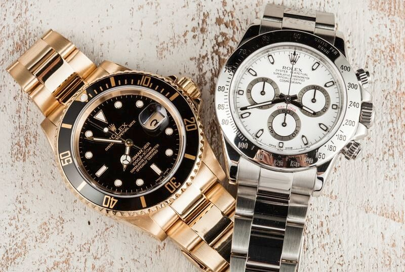 The Rolex Submariner and the Daytona are both watches are good Father's Day gift watches.