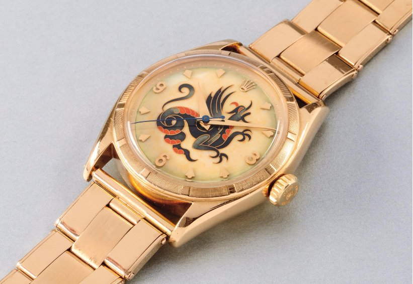 "Rolex ref. 6085 ""The Dragon"" (Image: Phillips)"