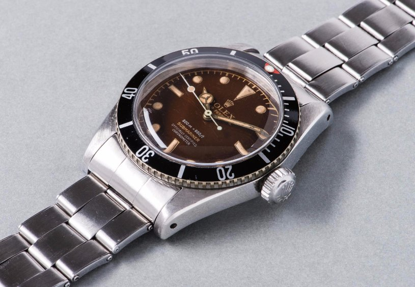 "Rolex ref. 6538 Submariner ""Big Crown"" (Image: Phillips)"