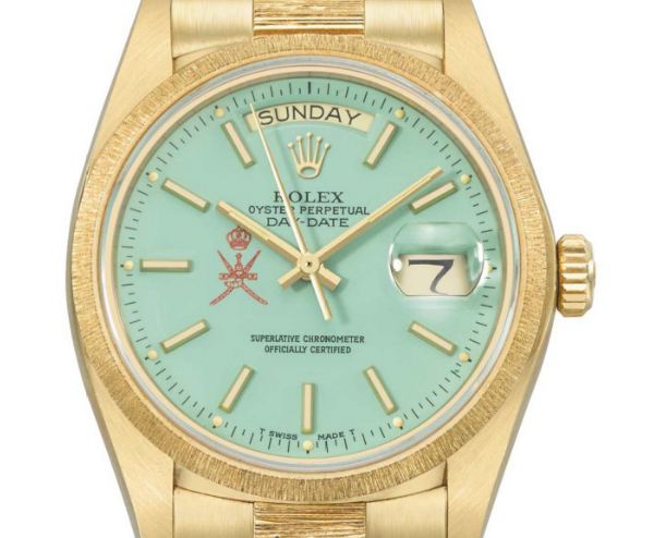 A very special Yellow Gold Day-Date with the Saudi dial