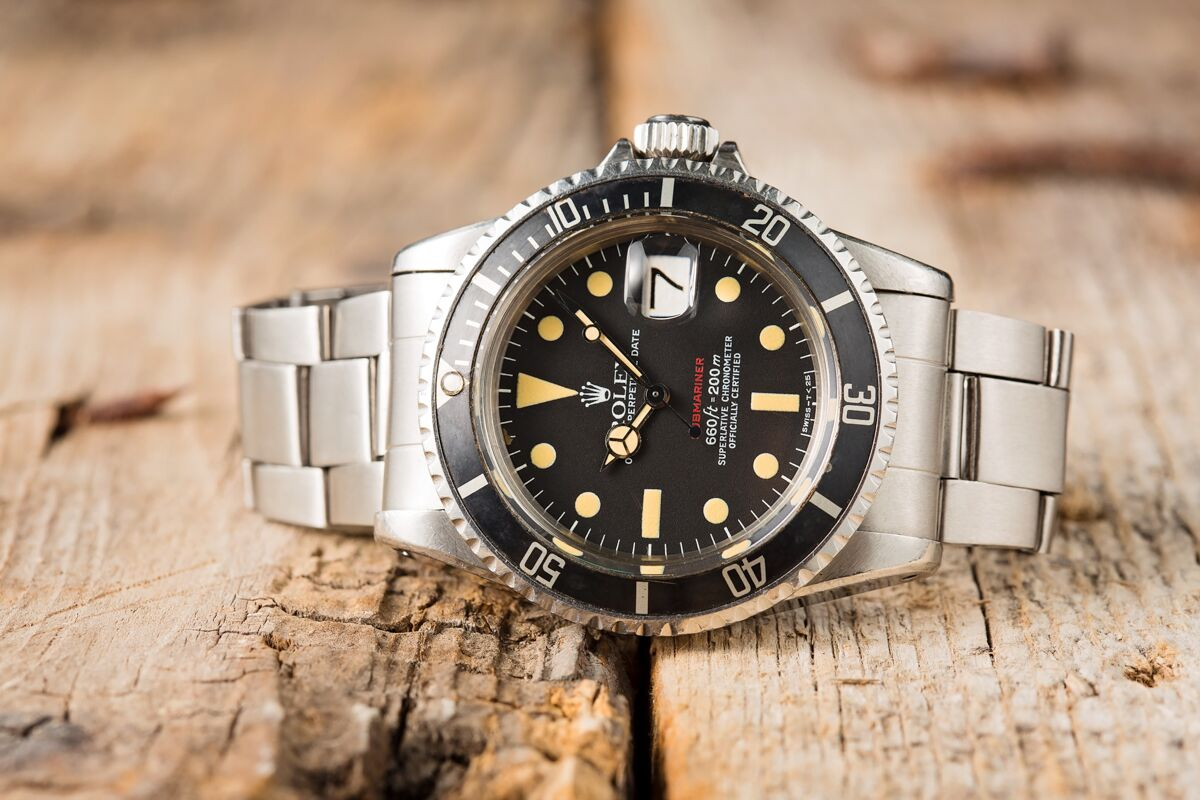 "Rolex ref. 1680 ""Red Submariner"""