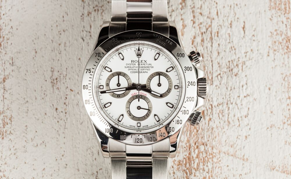 A Rolex Daytona is the perfect fit for an event like the Monterey Motorsport Reunion.