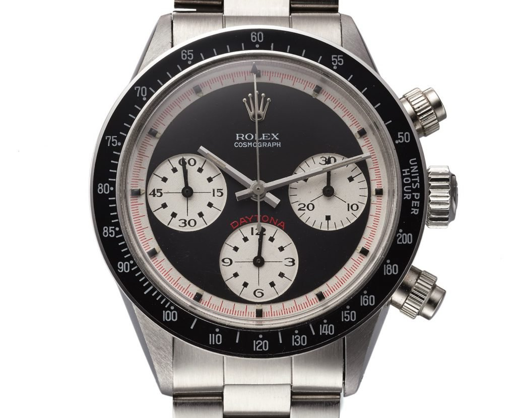 A reference 6240 Rolex Daytona featuring the evolved design