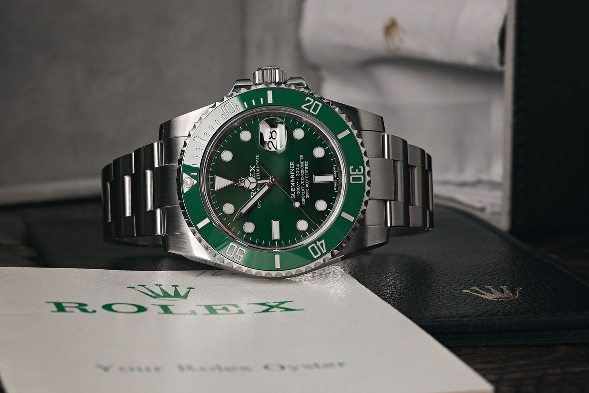 Rolex Submariner Hulk Green Dial 116610LV