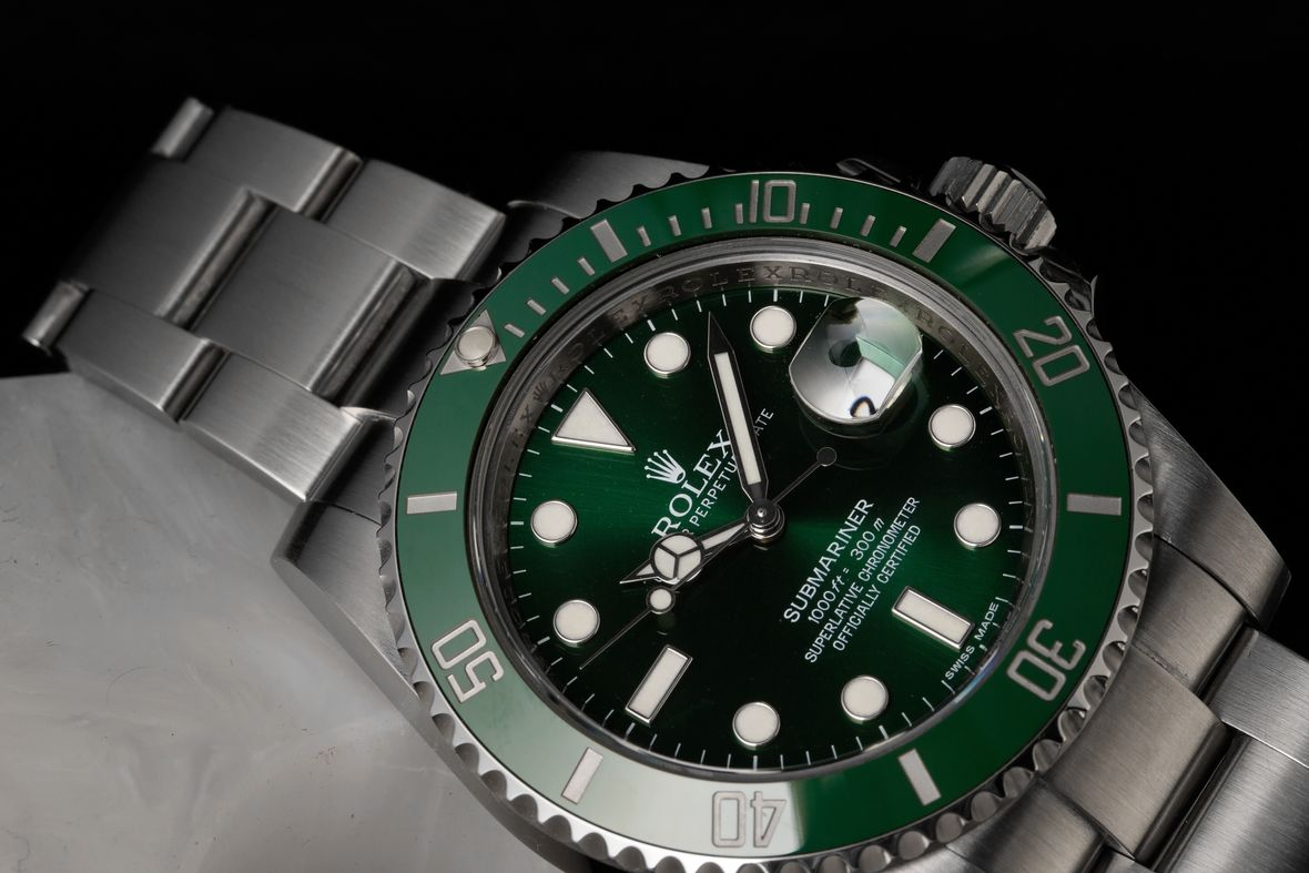 Rolex Green Submariner Hulk 116610LV