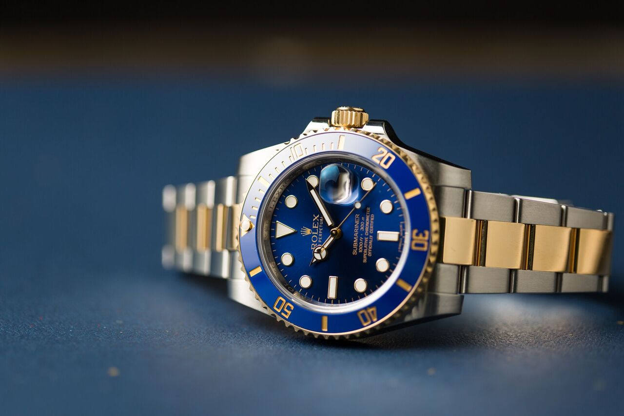 Rolex Watches Buying Guide two-tone Rolex Submariner Blue Dial