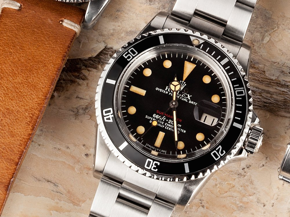 A timeless piece such as this Red Submariner is an everyday watch.