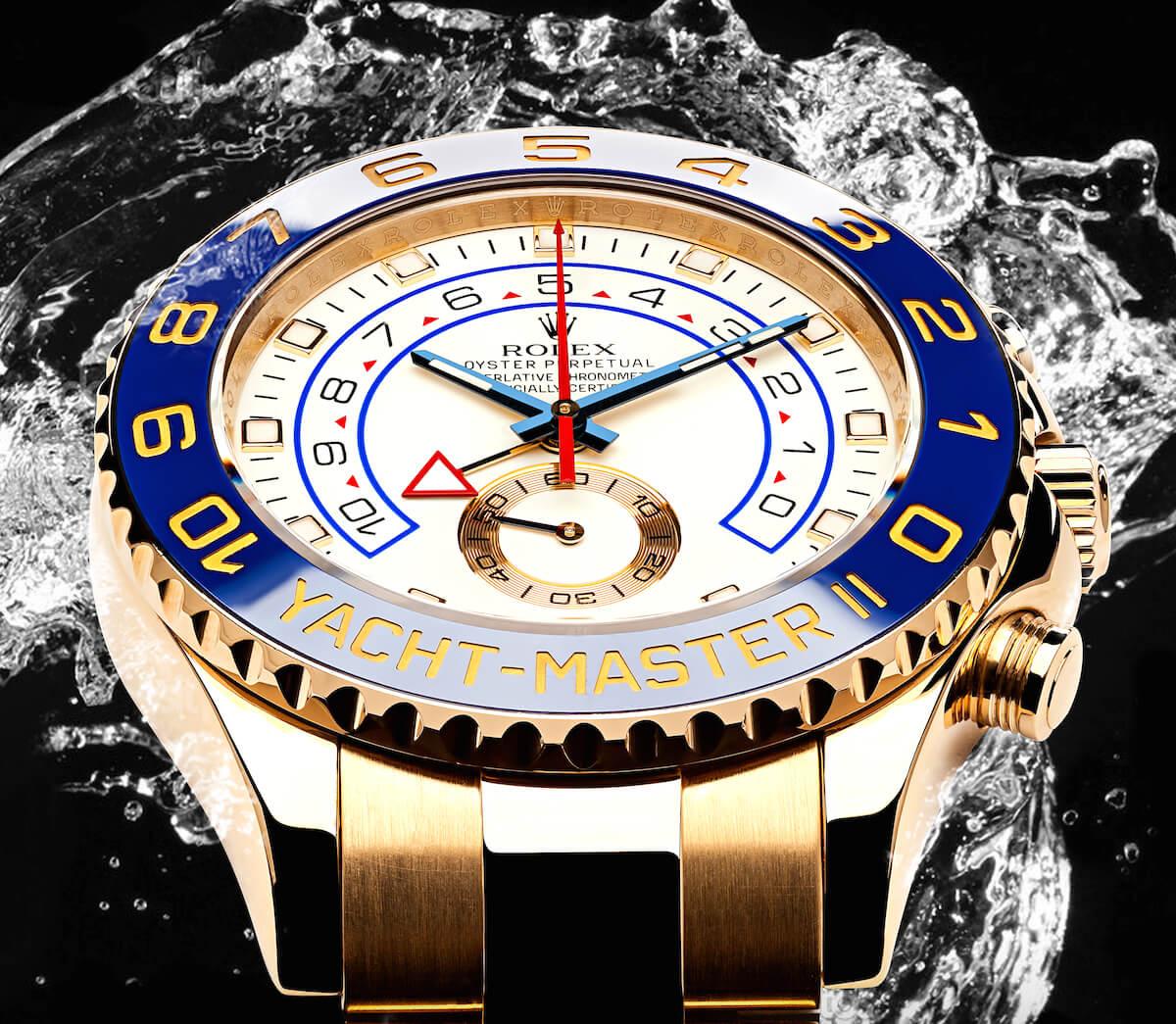 Rolex yellow gold Yacht-Master II ref. 116688