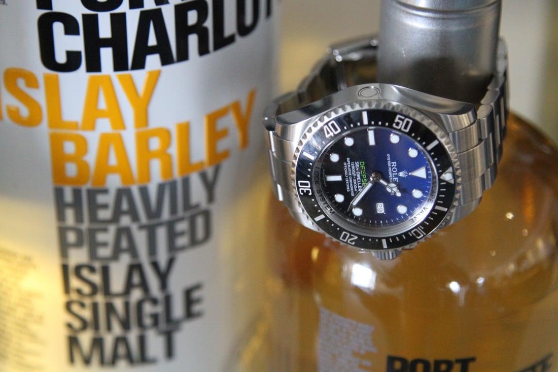 rolex deepsea single malt scotch