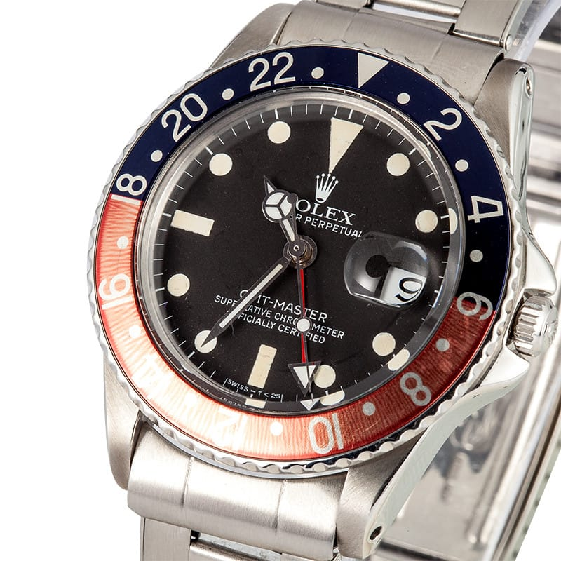 Rolex GMT-Master 1675 Pointed Crown Guard