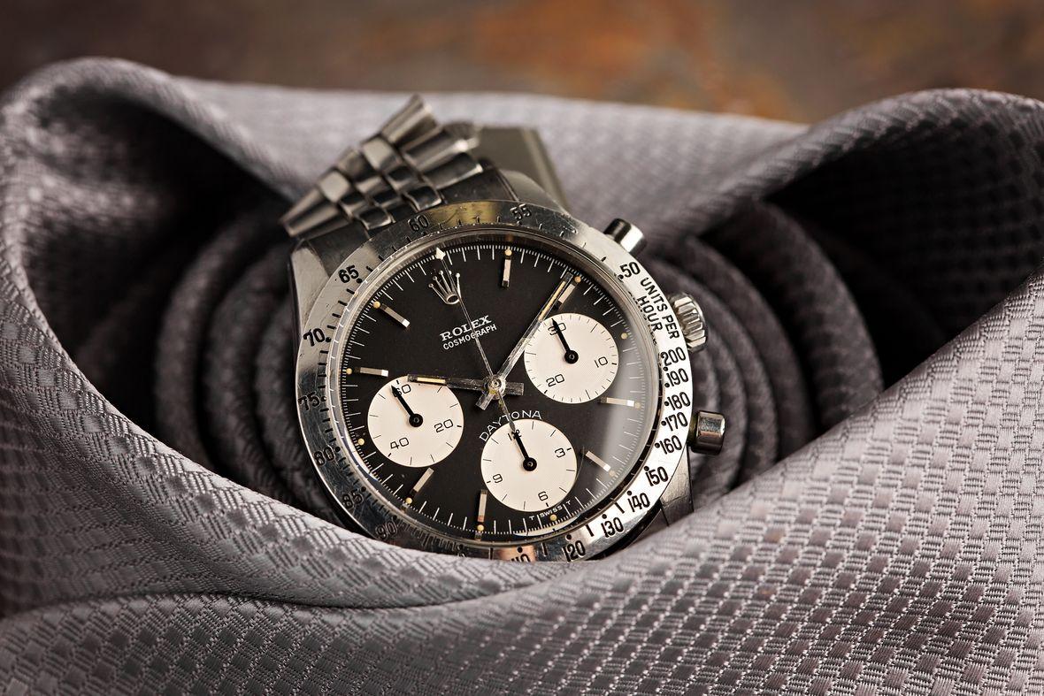 Vintage Rolex Daytona 6262 Black Dial