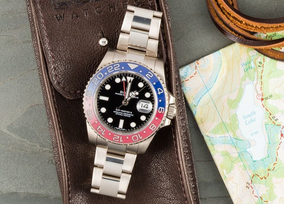 The Pepsi is a very popular and famous model. Another famous Rolex.