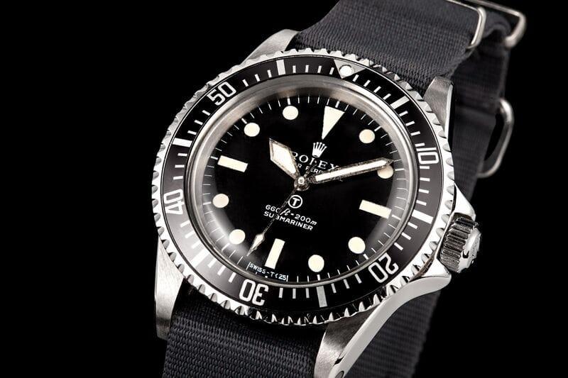 Rolex MilSub ref. 5513