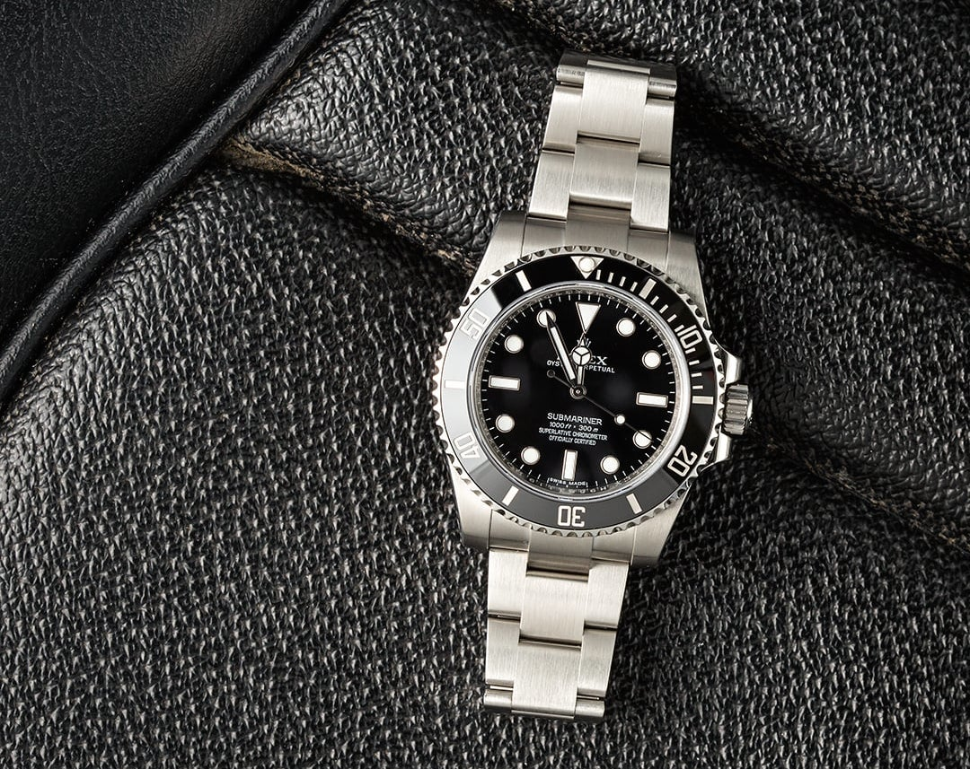 This Submariner is one of the greatest luxury watches from Rolex.