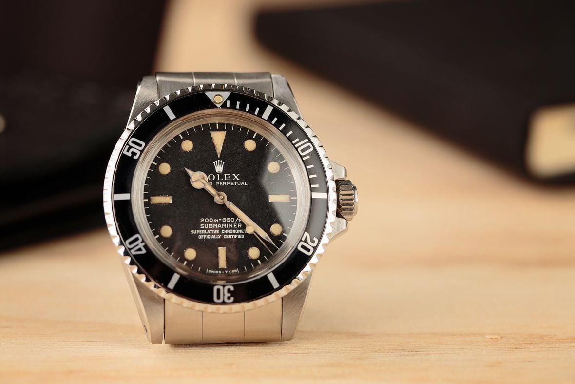 Vintage Rolex Submariner 5512 Matte Dial