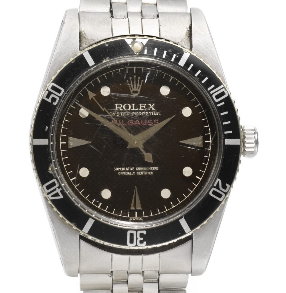 Rolex Milgauss ref. 6541 (Image: Sotheby's)