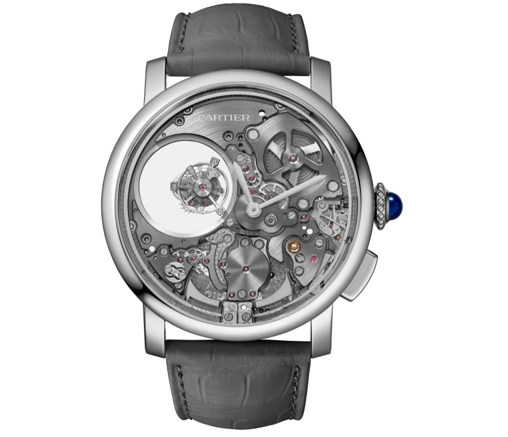 Rotonde de Cartier Minute Repeater Mysterious Double Tourbillon (Image: Cartier)