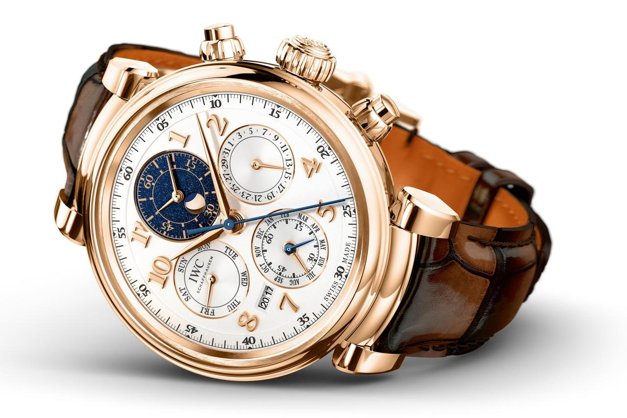 IWC's Da Vinci Perpetual Calendar Chronograph is a wonderful example of precision and artistic expression