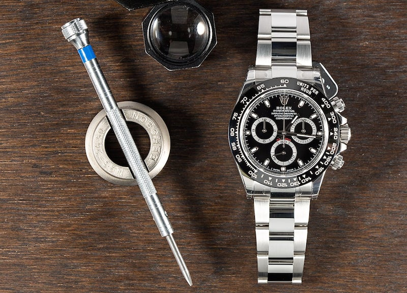 This blacked out Rolex Daytona ref. 116500 is a watch to keep.
