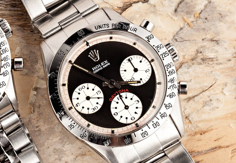This Paul Newman Daytona is a vintage Rolex to keep your eyes on.