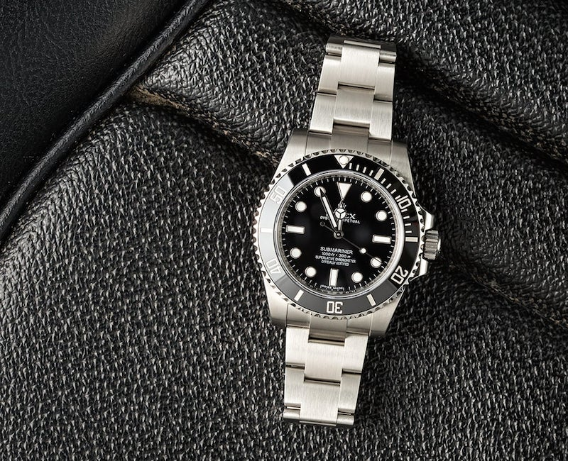 The Best Selling Submariner is not the no date.