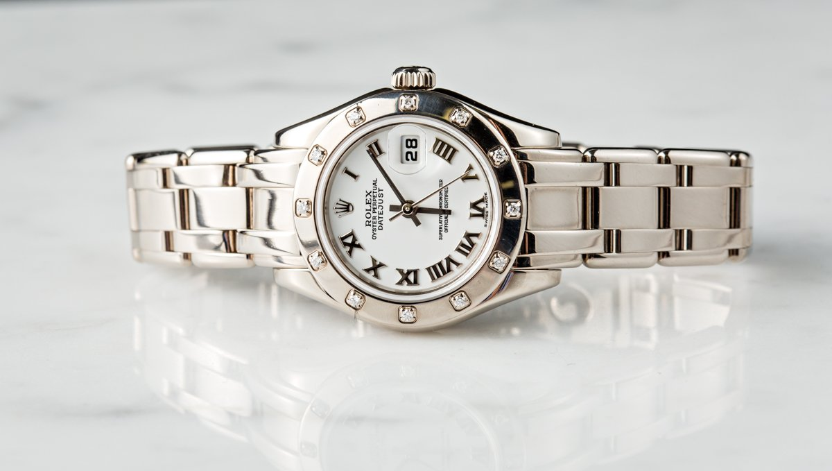 The Ladies Rolex Datejust is a great watch for women in business.