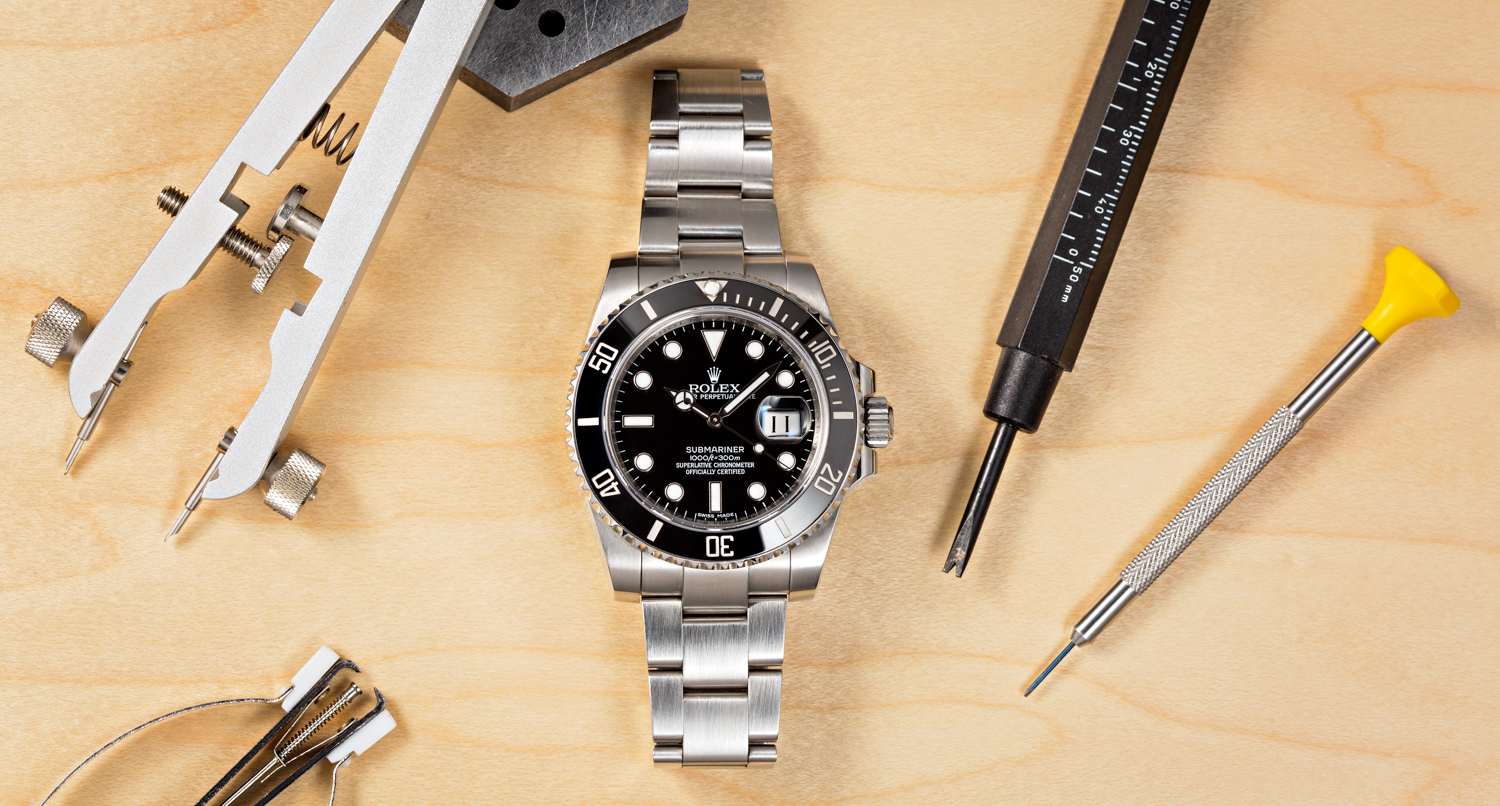 Taking care of a Rolex watch is easy, follow our guide to do so.