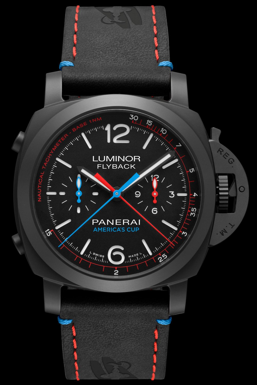 There is a limited amount of the Panerai Luminor Flyback.