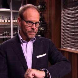 Alton Brown's perfect food is made because of his Omega.