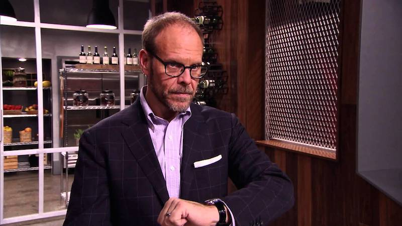Alton Brown has a huge love for Omega watches.