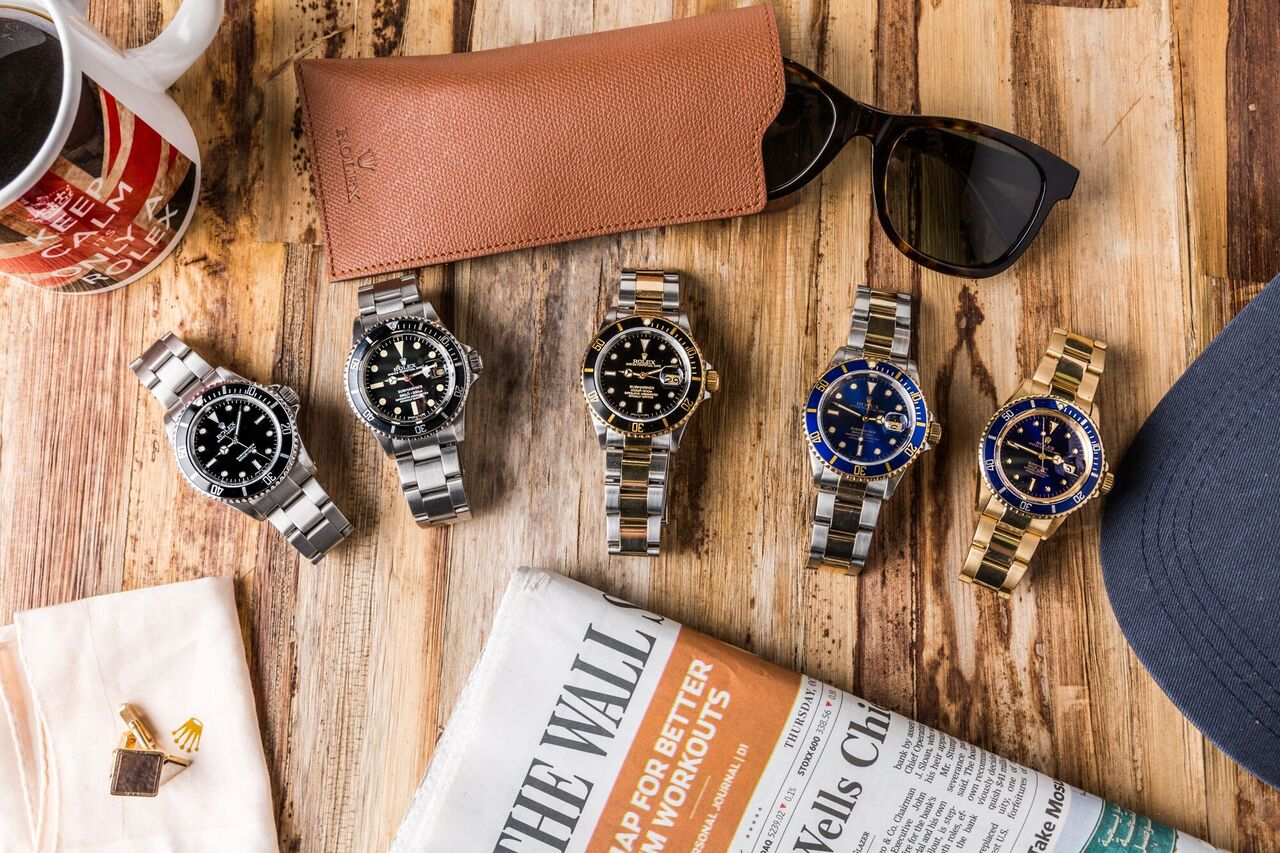 Edit your Rolex collection to include only watches that you love