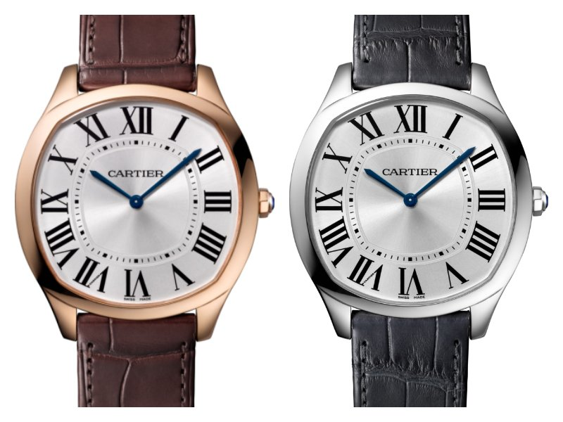 Cartier Drive de Cartier Extra-Flat comes with a classic theme despite the surrounding modern technology used at SIHH 2017.