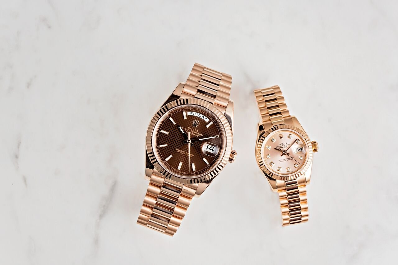 Rolex watches for women Day-Date President Everose Gold